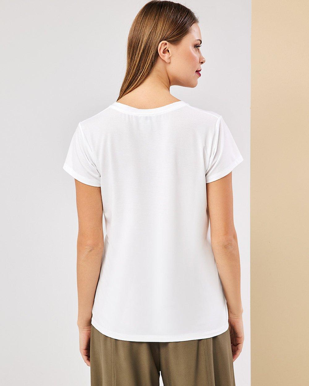 Μπλούζα με παγιέτα τσέπη