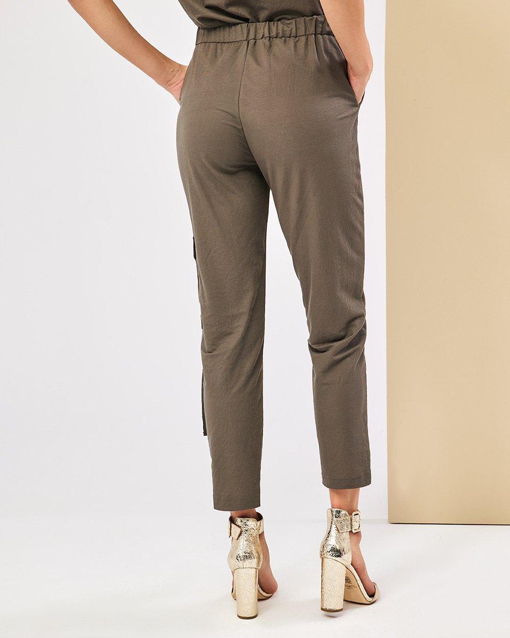 Παντελόνι με εξωτερική τσέπη