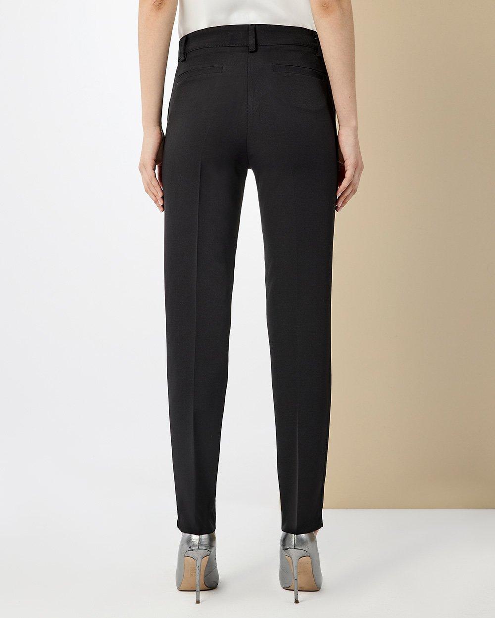 Παντελόνι στενό με κοφτή τσέπη