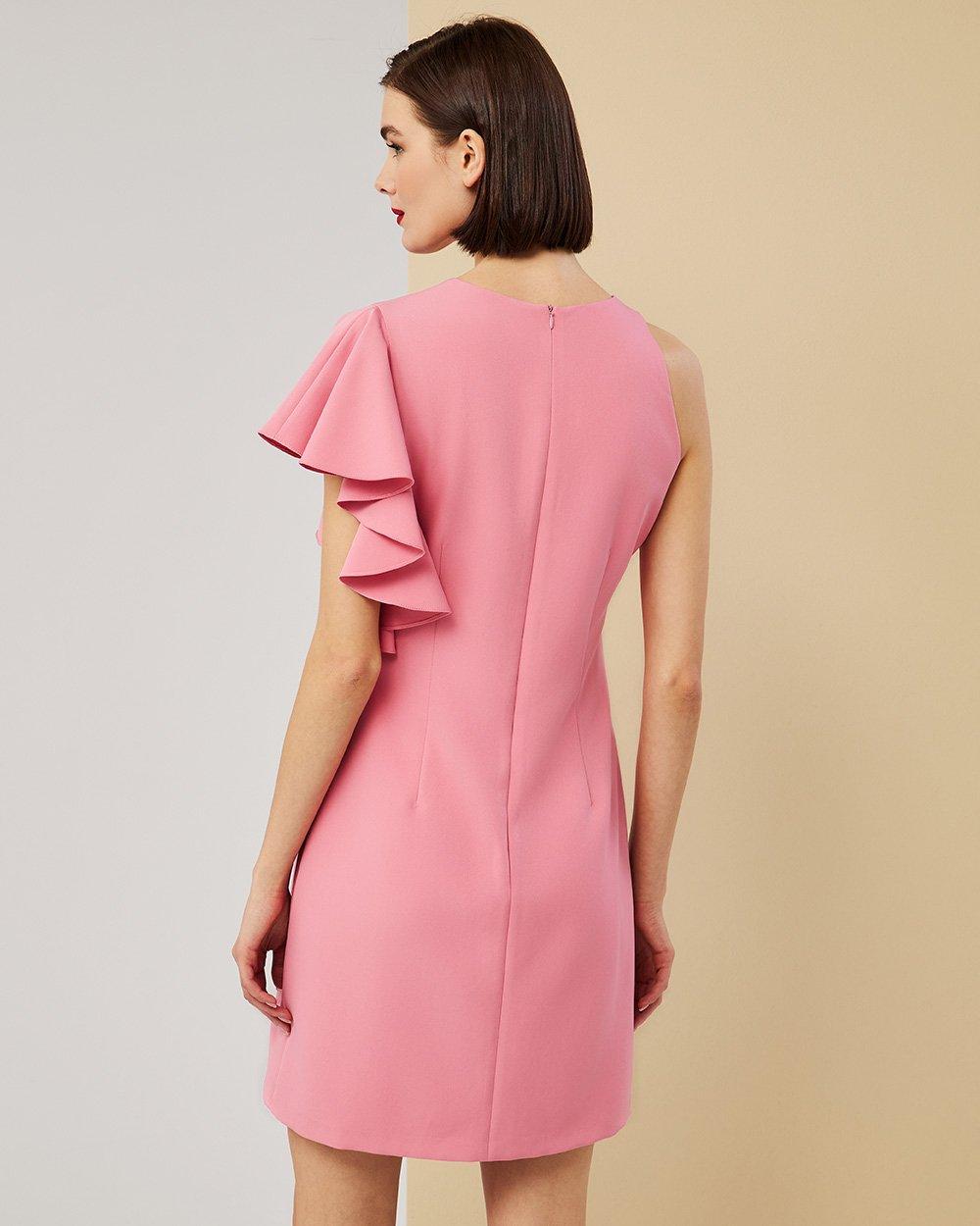 Φόρεμα με ένα μανίκι