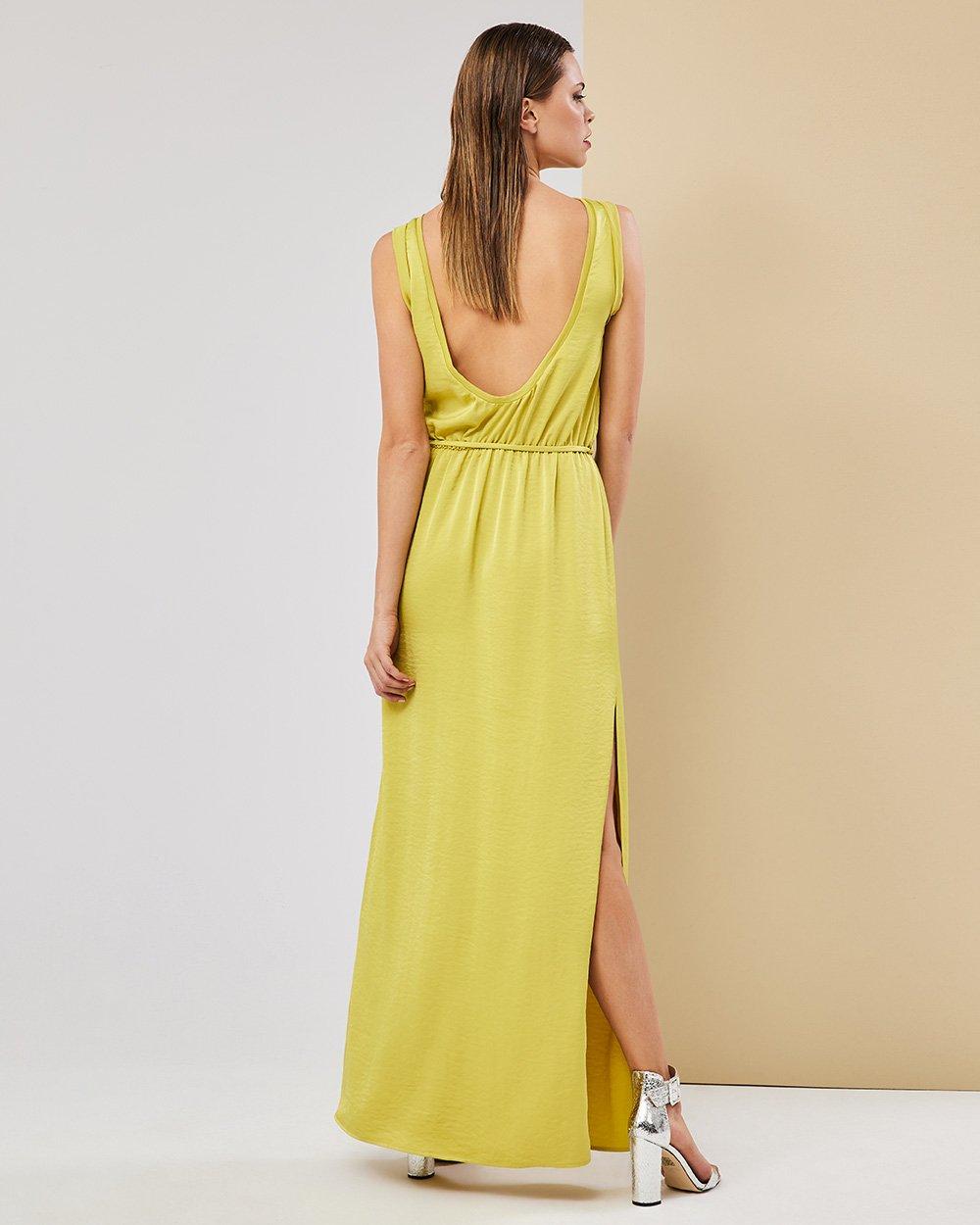 Φόρεμα μάξι εξώπλατο