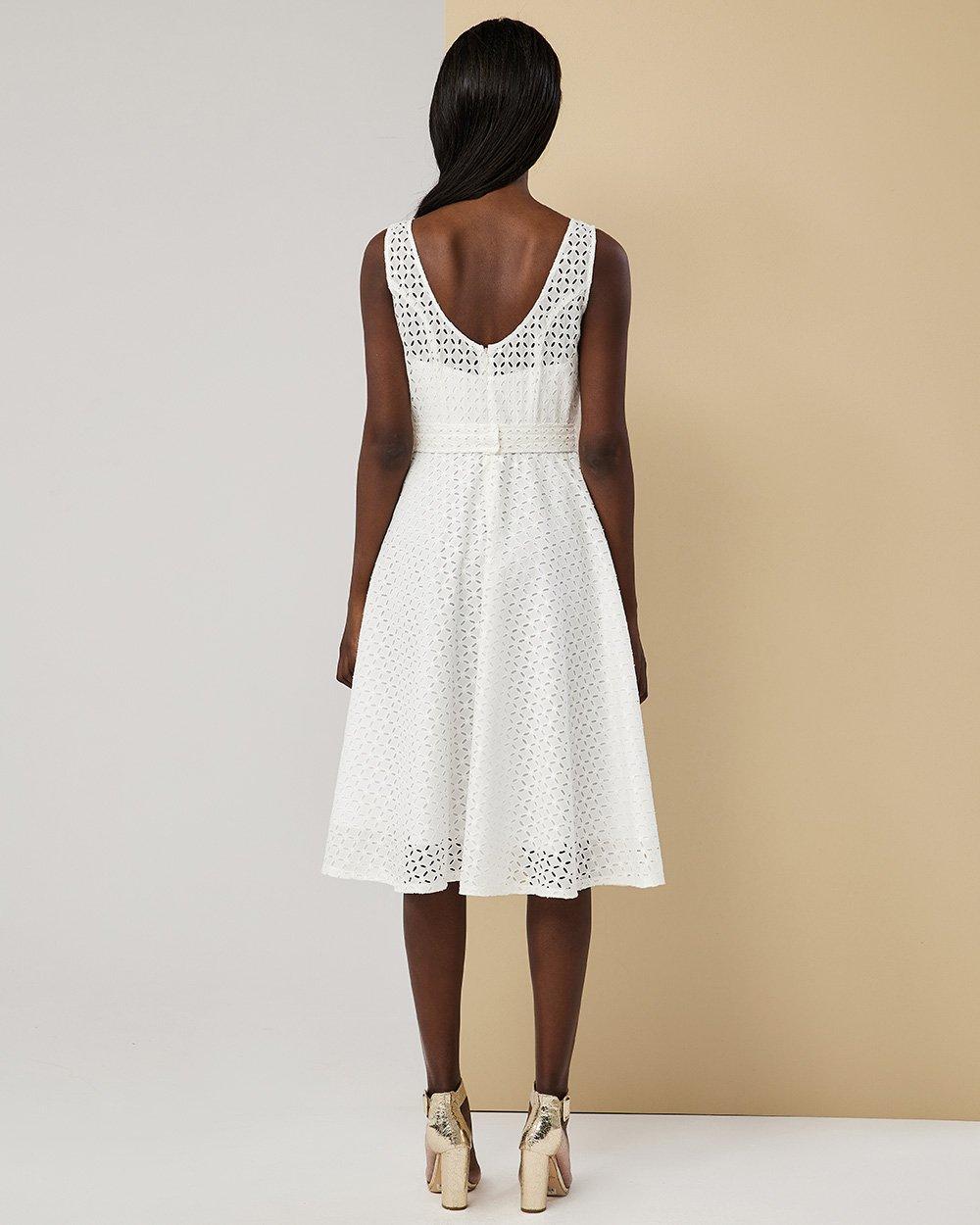 Φόρεμα midi λοξό