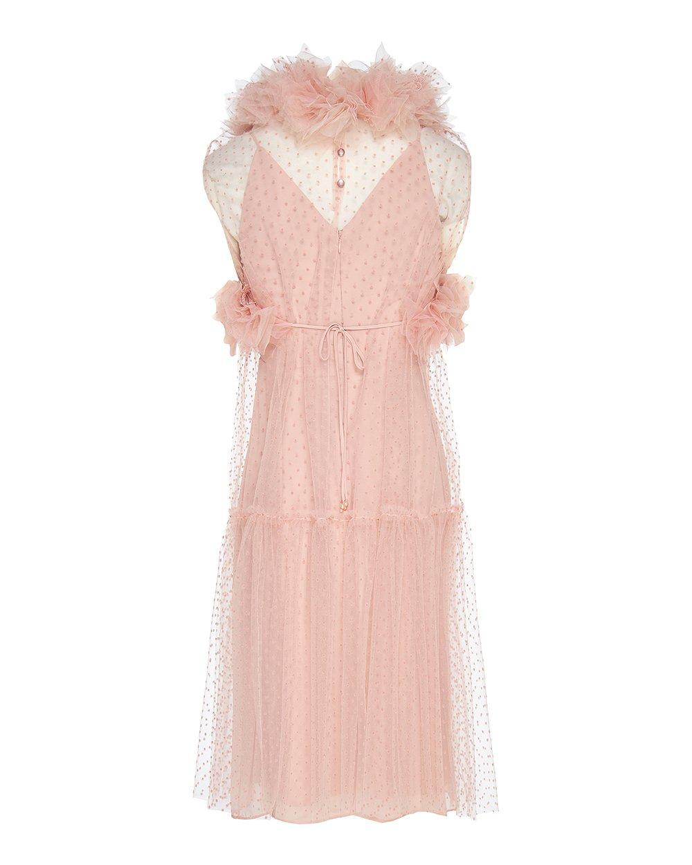 Φόρεμα τούλινο πουά