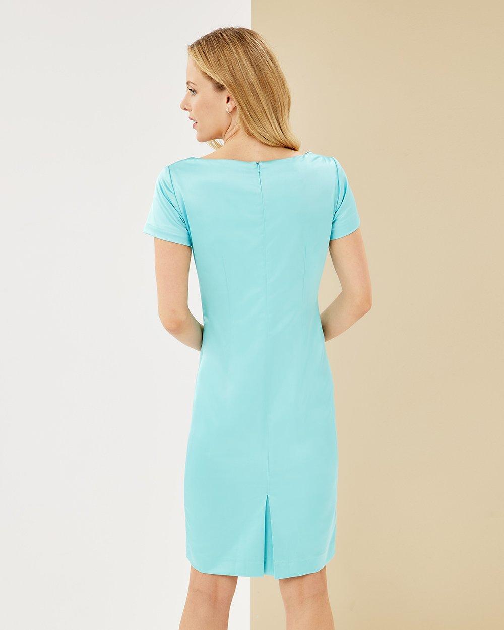Φόρεμα pencil με μανίκι