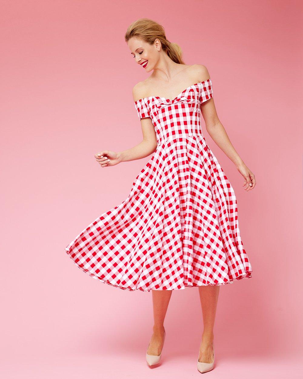 Φόρεμα λοξό midi