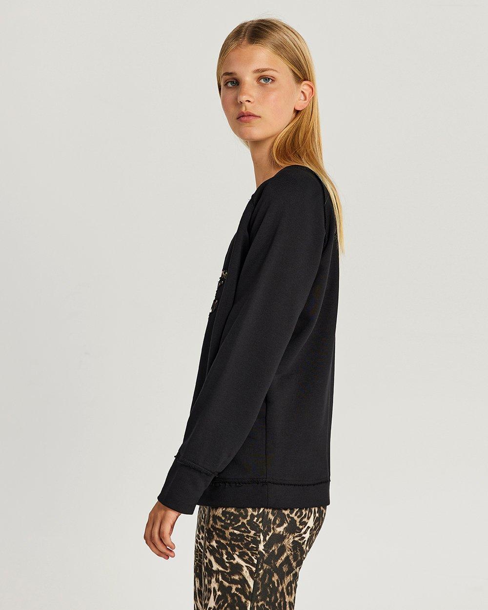 Μπλούζα τύπου φούτερ