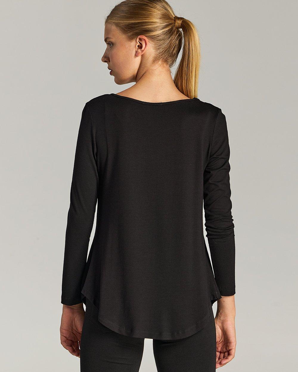 Μπλούζα με διακοσμητικά μοτίφ