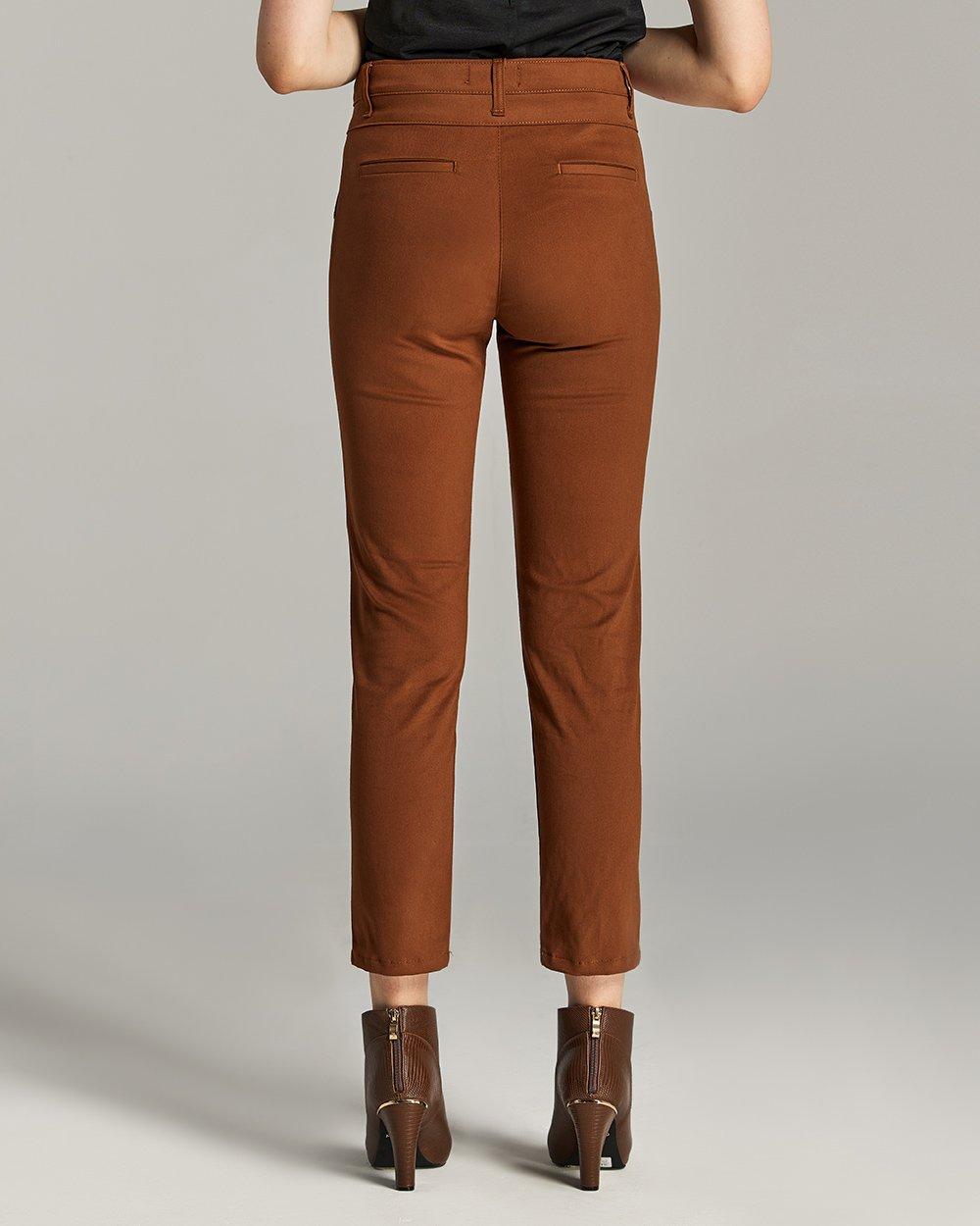 Παντελόνι με διπλό κούμπωμα στη μέση