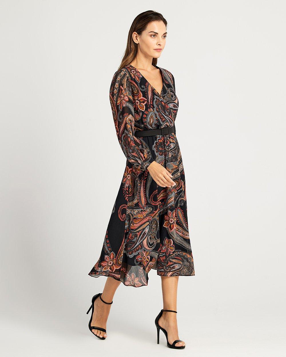 Φόρεμα εμπριμέ κλος
