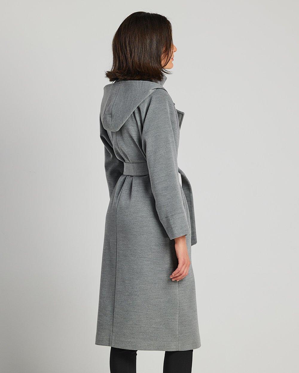 Παλτό με κουκούλα