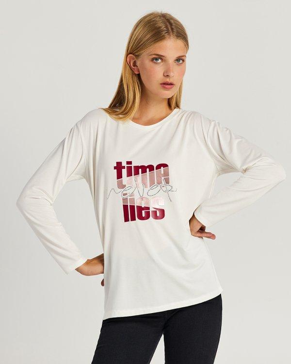 Μπλούζα με τύπωμα