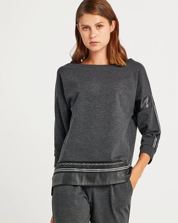 Μπλούζα με τρέσσα strass