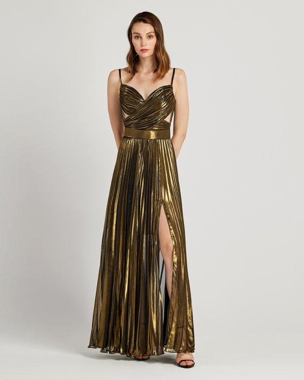 Φόρεμα αμπιγιέ μακρύ