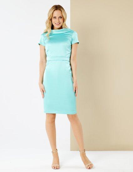 Φόρεμα σατέν pencil